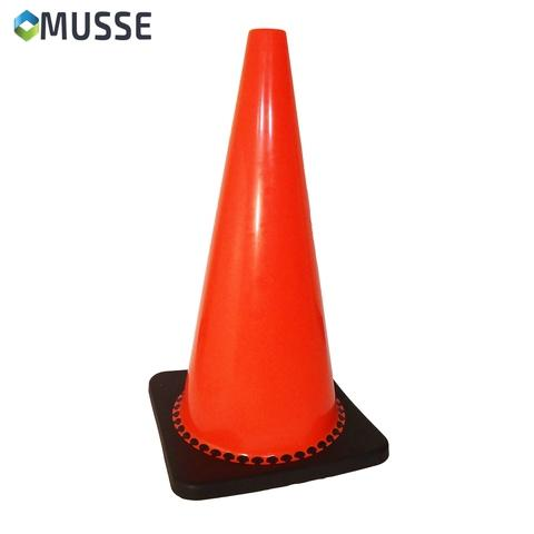 """28"""" Traffic cones with black base for road safety use"""