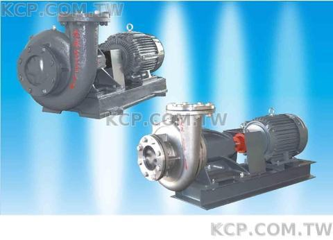 End-suction close-coupled centrifugal pump