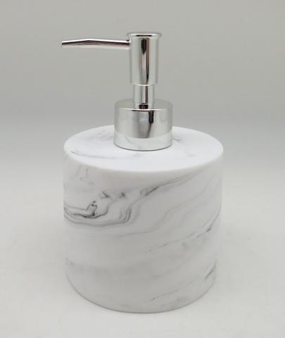 Marble Effect Poly Bathroom Set