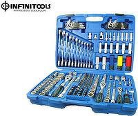 Socket and Wrench Set,176-piece,1/4,3/8,1/2