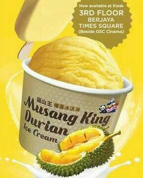 Taiwan Musang King Durian Ice Cream | Taiwantrade