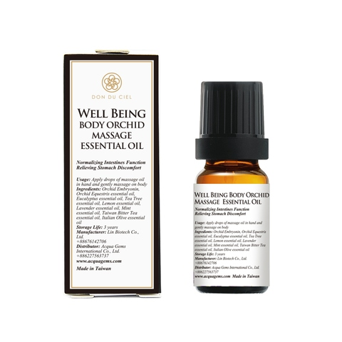 Don Du Ciel Well-Being Massage Essential Oil