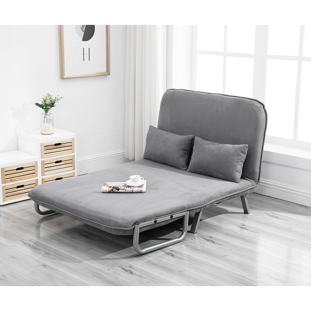- European Style Two Seat Folding Sofa Bed Sleeper Couch Bed