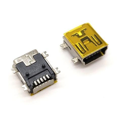 R2960 - Mini USB 5P B Type Female R/A SMT Connector