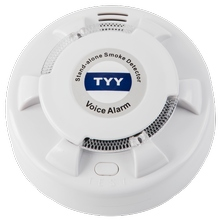 Stand Alone Photoelectric Voice Alarm Smoke Detector