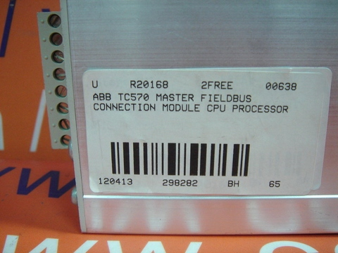 ABB TC570 3BSE001458RI MASTER FIELDBUS CONNECTION MODULE