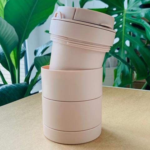 iO felicity - Free Assembly Travel Tumbler-Milk Tea