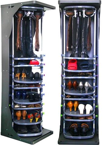 Taiwan Free Standing Adjustable Swivel Footwear Shelf, Rotating Boots Rack, Rotating  Shoe Storage | Taiwantrade.com