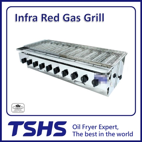 Best Quality Convenient Seafood Infared Gas Grill