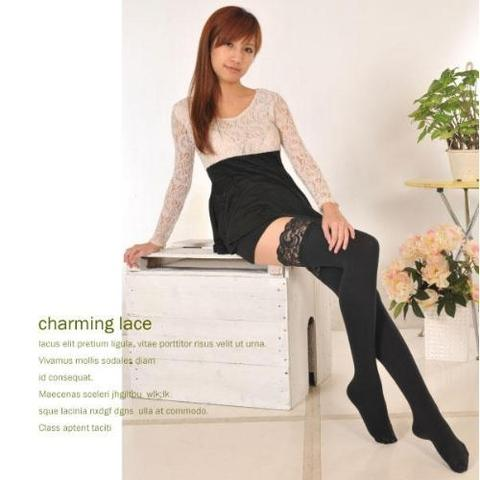 098cfdf970580 Taiwan Microfiber Raspberry Gel Non-Slip Down-Like Warm Thigh Highs ...