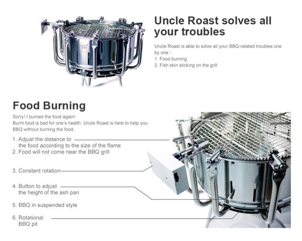 taiwan uncle roast universal bbq grill bbq and stoves. Black Bedroom Furniture Sets. Home Design Ideas