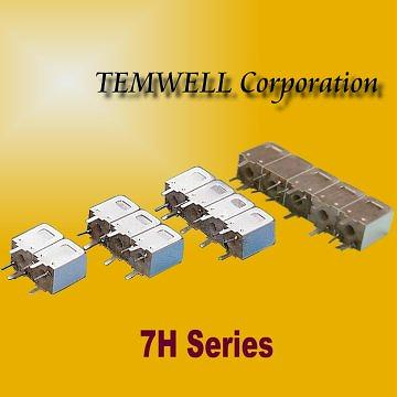 7H Helical Bandpass Filter