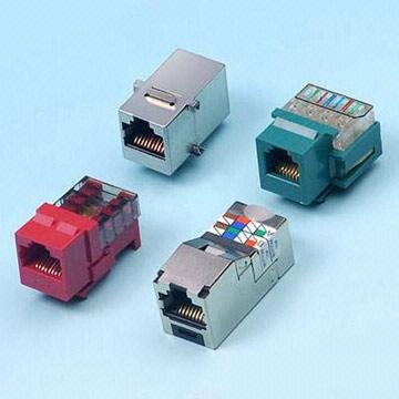 Category 5e Standard, RJ45/12/11 Type PCB Modular Jack
