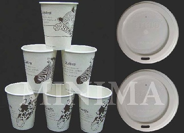 100% Biodegradable & compostable cups & Lids