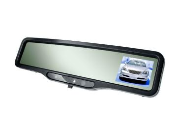 ADM-100D rearview mirror uses LCD technology and reduce glare in 0.5 second with