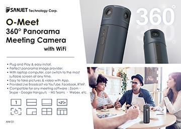 O-Meet  360° Panoramic Meeting Camera with Wi-Fi
