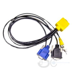 HPDB50P Male to 2*HPCN50P Male cable 2M length, SCSI cables