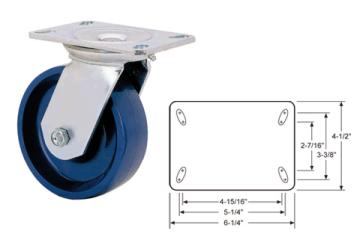 HEAVY DUTY COLD FORGED CASTERS