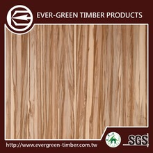 Glue Joint Red Gum Wood Veneer Laminate Sheet For Mdf Wall