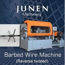 Barbed Wire Machine (High tensile reverse twisted type)
