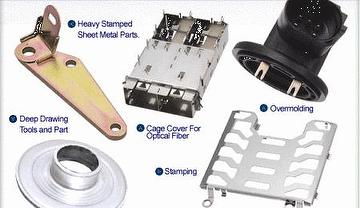 insert molding and stamping parts