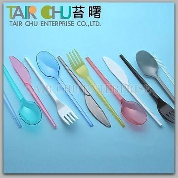 Colorful Plastic Spoon