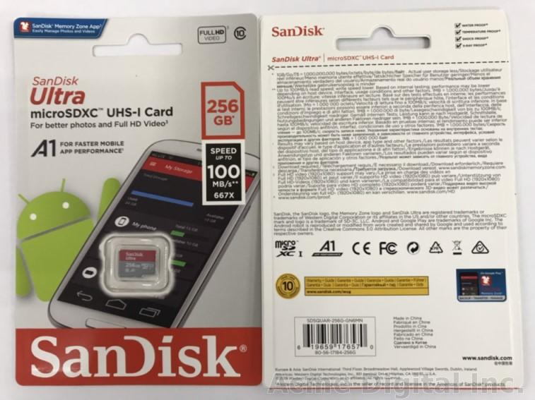 SanDisk Ultra 256GB MicroSDXC Verified for Huawei AQM-AL00 by SanFlash 100MBs A1 U1 C10 Works with SanDisk