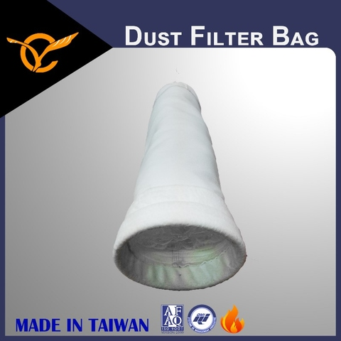 Filter Bags, Surface Singeing PET Filter Bags