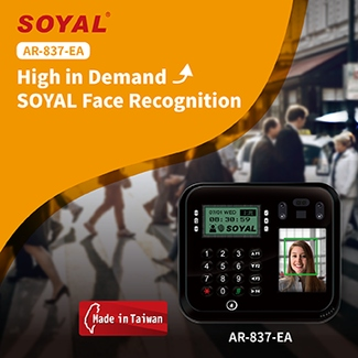 High in Demand: SOYAL Face Recognition AR-837-EA