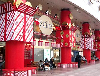 Taiwan Chinese New Year Storefront Decoration at SOGO Department ...