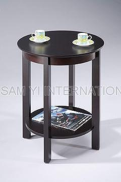 End Table, Side Table, Coffee Table, Tea Table, Wood Table, Wooden Table, Round  Table.