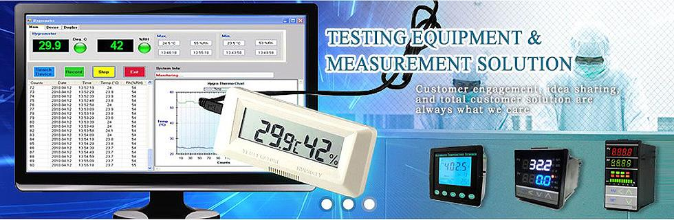 Measurement Instruments & Data Logger