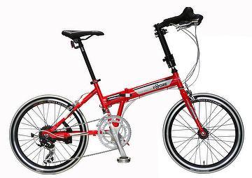 19efeee154b Taiwan SPEED ARROW - 20 inch 16 spd ferrari red folding road bike ...