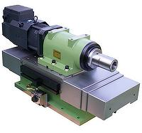 Hydraulic slide table Servo milling spindle head, Boring Spindle, Milling Spindle,  machining spindle, machining unit