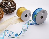 Merrowed Wired Edge Nylon Ribbon