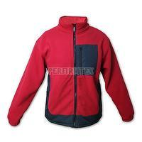Anti-Pilling Men's Polyester Fleece Fabric Super Warm Work Jacket