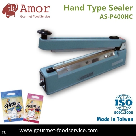 40cm Daily Use Hand Type Sealer Plastic Bag Heat Sealer