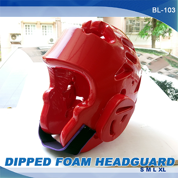 Taiwan DIPPED FOAM HEAD GUARD, KARATE, TAEKWONDO, JUDO
