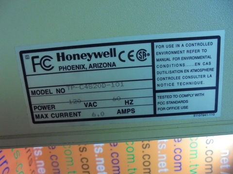 HONEYWELL TP-C4S20D-101 Engineers Station