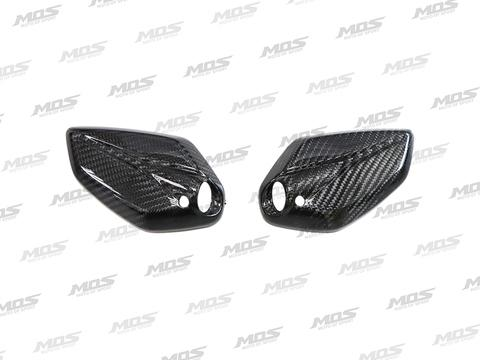 Carbon Fiber Rear View Mirror Covers for Yamaha N-MAX 125/155/160 (NM-X) (15-18)