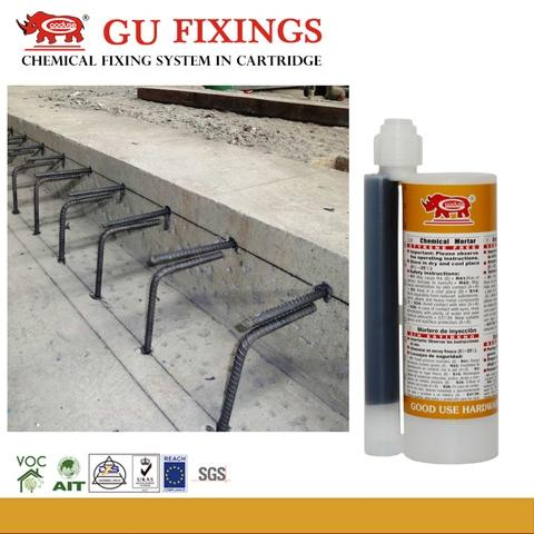 Styrene Free Vinylester Adhesive For Metals and Stone