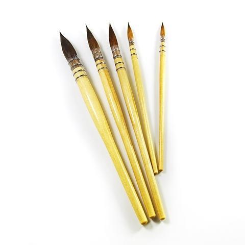 kolinsky hair acrylic paintting (watercolor & oil)