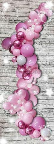 Wild balloon garland for party