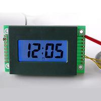 LCD Alarm Clock Module with LED Backlight in Blue Color