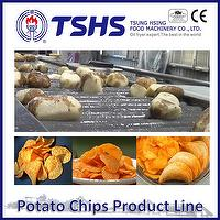 Made in Taiwan High Quality Cadina Chips Fryer Line