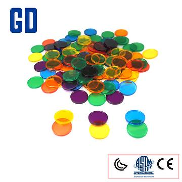 round 2cm 6colors 1000pcs