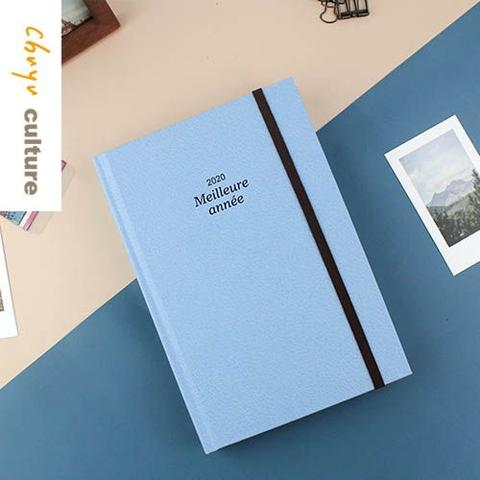 2020 B6 Hardcover Journal Planner Organizer Diary Notebook Daily