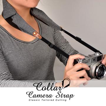 Collar Camera Strap-Herringbon
