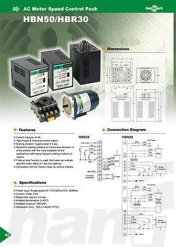 AC motor braker HBN50 / HBR30