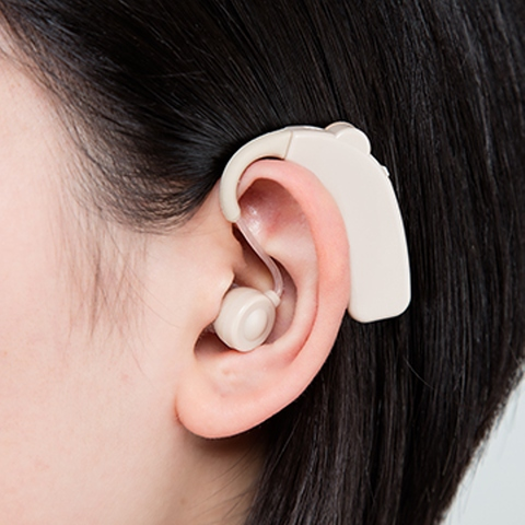Rechargeable Hearing Aid Behind the ear BTE (UP-64K)